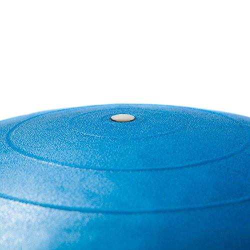 Gymnastikball Sitzball 65 cm, verschiedene Farben, inklusive Handpumpe - 4