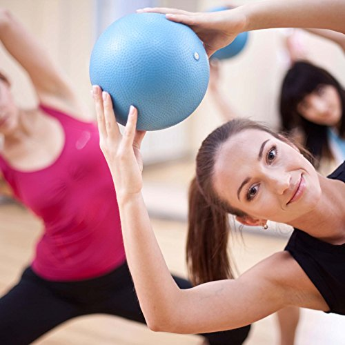 Mini Pilates Ball »Balle« 18cm / 23cm / 28cm / 33cm Gymnastikball für Beckenübungen, Stärkung der Bauchmuskulatur und partielle Massage. grün / 23cm - 3