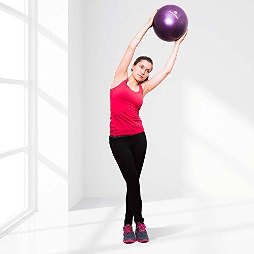 Mini Pilates Ball »Balle« 18cm / 23cm / 28cm / 33cm Gymnastikball für Beckenübungen, Stärkung der Bauchmuskulatur und partielle Massage. grün / 23cm - 8