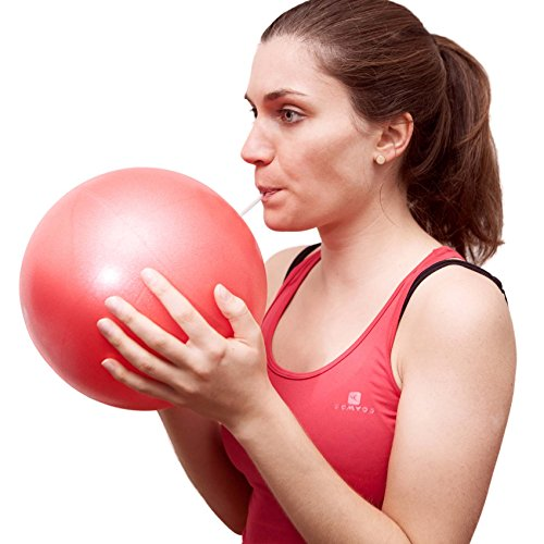 Mini Pilates Ball »Balle« 18cm / 23cm / 28cm / 33cm Gymnastikball für Beckenübungen, Stärkung der Bauchmuskulatur und partielle Massage. grün / 23cm - 9