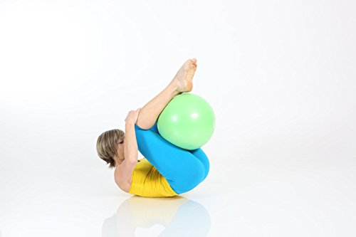 TOGU Gymnastikball, Pilates Ball, Trainingsball, Übungsball TOGU Redondo Ball Plus (Das Original), grün, 38, 491400 - 3