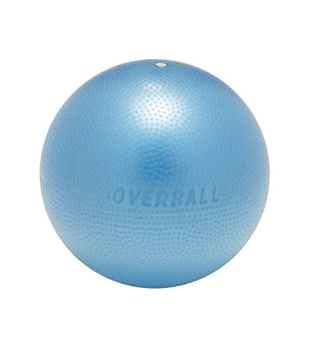 Overball 25cm BLAU ROT GELB PILATESBALL Gymnastikball, Yoga Übungsball, Yogaball, Soft Pilates, Therapieball, GYMNIC (blau)