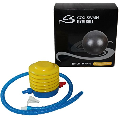 COX SWAIN Gymnastikball Professional, Colour: Dark Grey, Size: 75cm - 2