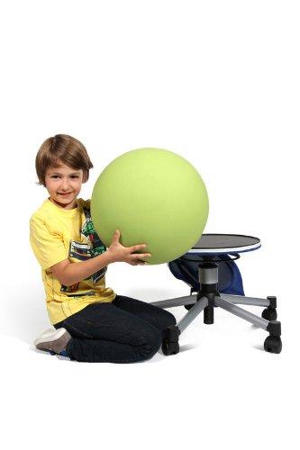 Topstar Sitness Half Ball Junior - Farbe: rot - Teppichbodenrollen - 7