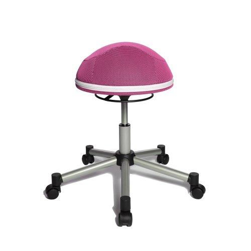 TOPSTAR Drehhocker Sitness Half Ball, pink