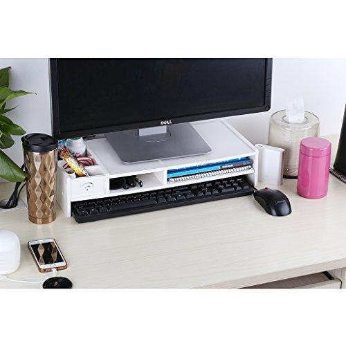 ᐅᐅfinether Monitorständer Bildschirmständer Tischaufsatz