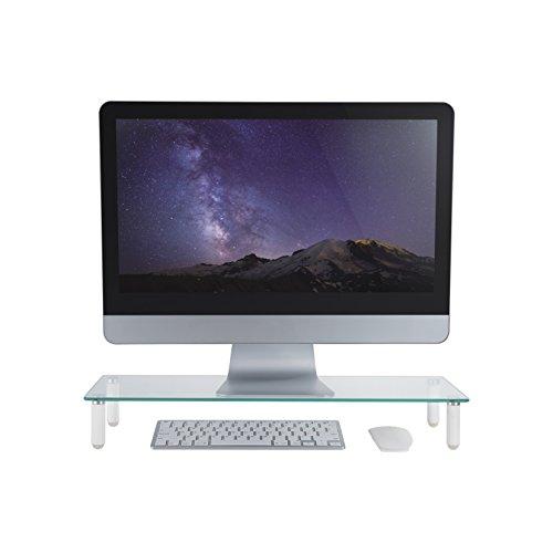 ᐅᐅdeleycon Monitor Stand Untersatz Erhöhung Bildschirmständer