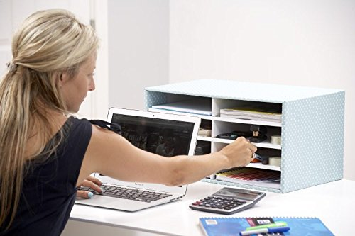Bankers Box Style Series Schreibtisch Organizer, grün/weiß - 3