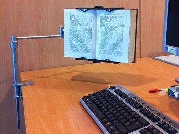 Lecco Practic: Lesepult/Leseständer -Höhepunkt des Lesekomforts- Um sich in einer Tabelle verankert werden